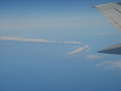 at least we got to see the farewell spit on the flight out