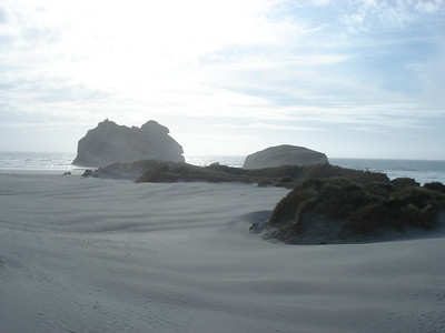 huge remote beach, not another soul