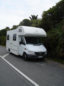 our home.  it was low season so we were able to get this 6 person RV for 60 dollars a day.  Since it was 3 of us we paid 20 NZD a day each for our car/home and each had our own double bed.