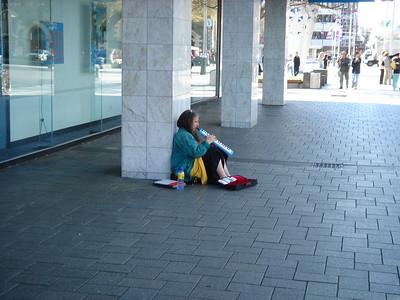 crazy lady in Christchurch