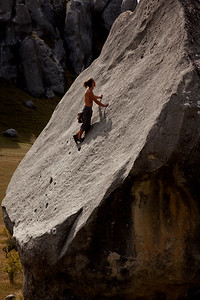 Bouldering Castle Hill, Canterbury, NZ MR