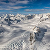 Ice field of Fox Glacier