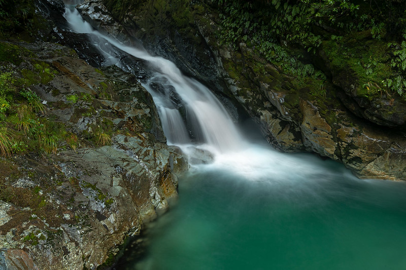 Falls on return drive from Milford Sound.