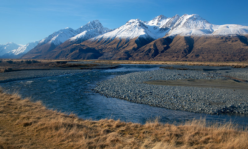 Burnett Range. South Island.