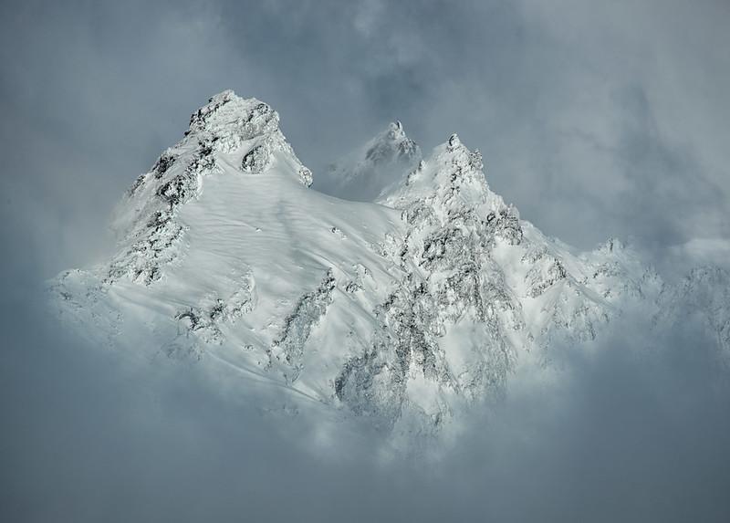 Pinnacles on Mt. Ruapehu.