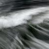 Boat wake, Milford Sound.
