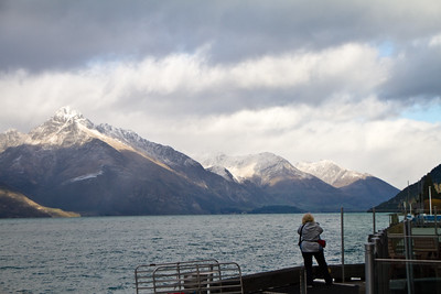 Aboard the Earnslaw in Queenstown