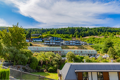 Hillside terraces, apartments, houses in Frankton,  Otago, Queenstown New Zealand.