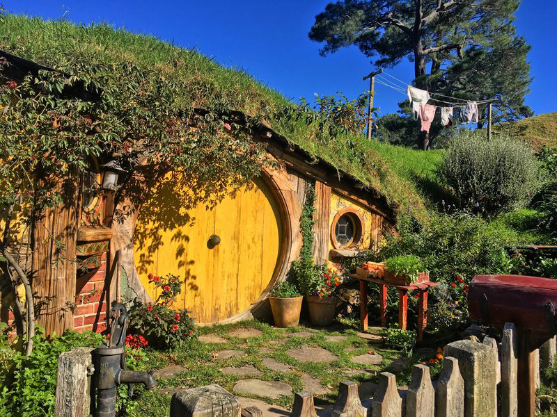 hobbiton film set new zealand