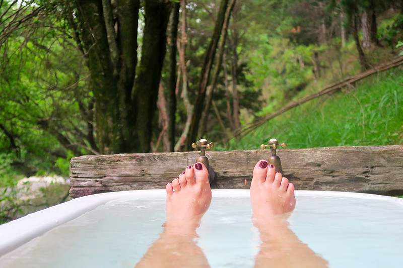 outdoor bathtub nz