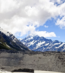 Aoraki Mt Cook and the Hooker River