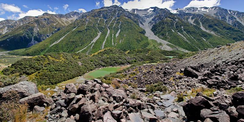 Blue Lake Aoraki Mt Cook National Park