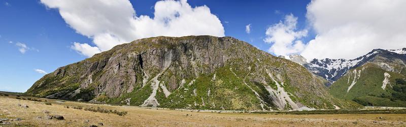 Rock face Aoraki Mt Cook