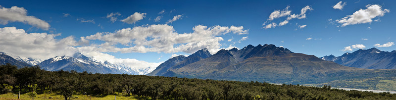 Southern Alps Aoraki Mt Cook  National Park