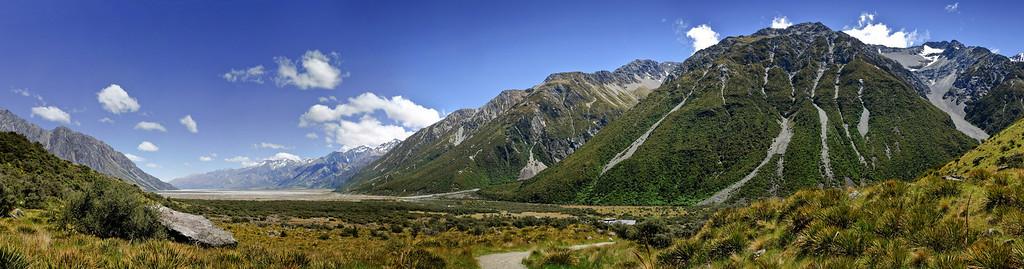 Tasman Valley Aoraki Mt Cook National Park