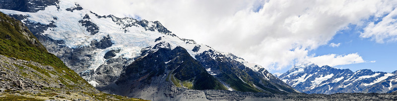 View from Kea Point Aoraki Mt Cook