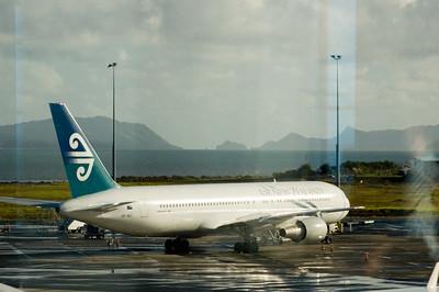 Manukau Heads from Auckland International Airport New Zealand - 15 Jun 2006