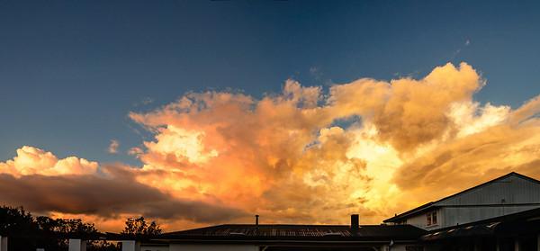 Sunset Waitakere Auckland