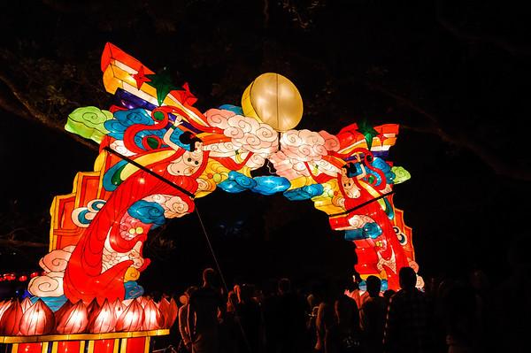 Lantern Festival 5 Feb 2012 Albert Park Auckland