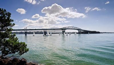 Auckland Harbour Bridge Auckland New Zealand