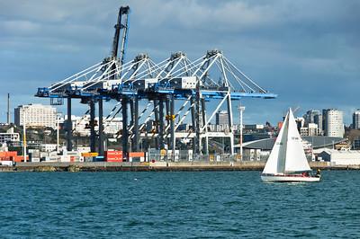 Container Terminal Auckland