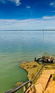 Boat landing Matakawau Point Awhitu Peninsula North Island New Zealand