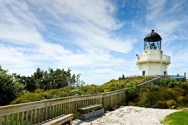 Manukau Heads Lighthouse Awhitu Peninsula North Island New Zealand