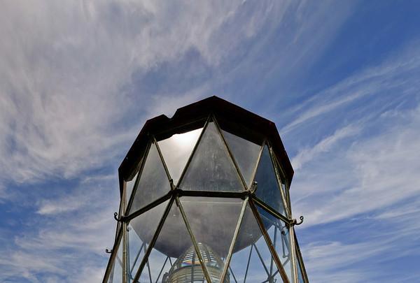 Beacon Manukau Heads lighthouse Awhitu Peninsula North Island New Zealand