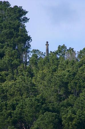 Monument to original settlers Cornwallis New Zealand - 3 Sep 2006