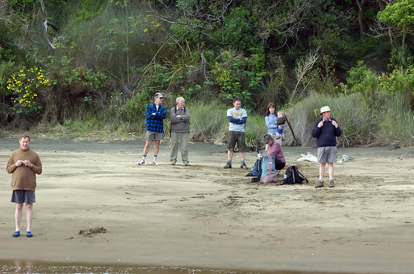 At Wattle Bay Awhitu Peninsula New Zealand - 3 Sep 2006
