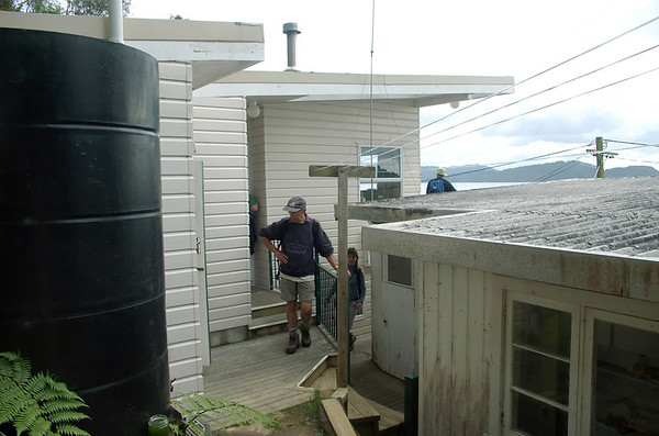 Neil great grandfather's bach Awhitu Peninsula New Zealand - 3 Sep 2006