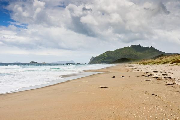 View of Bream Head from Ocean Beach
