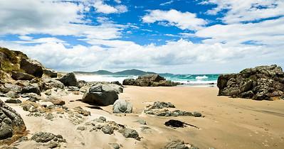 Looking north, Ocean Beach Bream Head North Island New Zealand