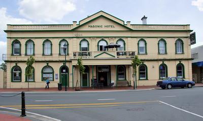 Masonic Hotel Cambridge New Zealand - 4 Nov 2006