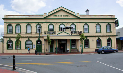 Masonic Hotel Cambridge New Zealand - 4 Nov 2006