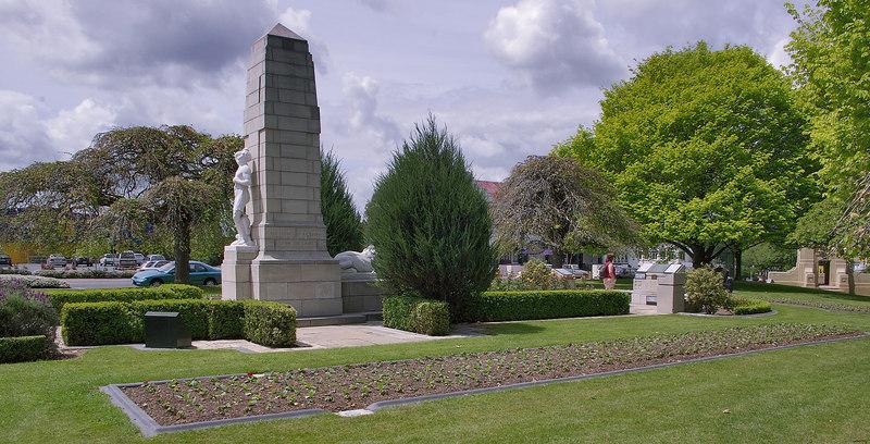 Garden of Remembrance Cambridge New Zealand - 4 Nov 2006