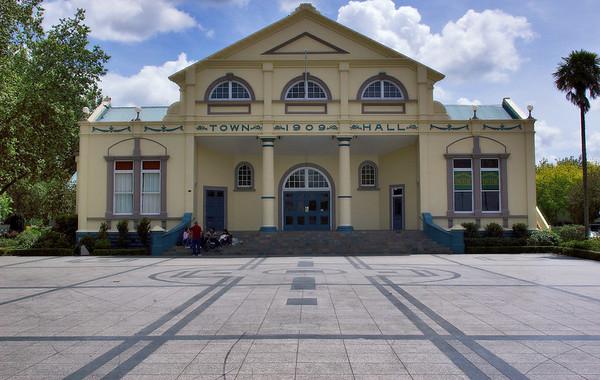 Town Hall Cambridge New Zealand - 4 Nov 2006