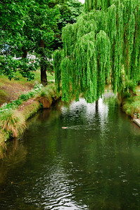 The river Avon Christchurch South Island New Zealand
