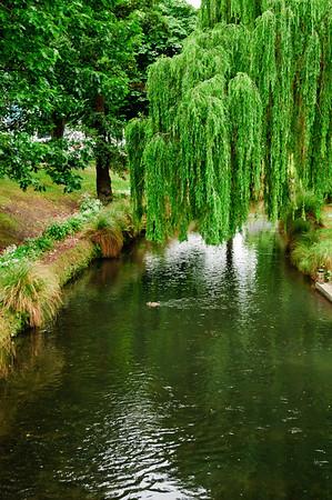 The river Avon Christchurch South Island New Zealand