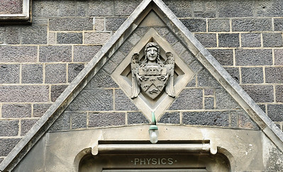 Entrance to the former Physics Department Canterbury University Christchurch New Zealand