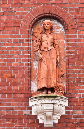 Statue of Concord Old Provincial Council Building Christchurch South Island New Zealand