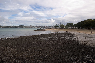 Pebble beach Devonport Northe Shore City New Zealand - 16 Apr 2006