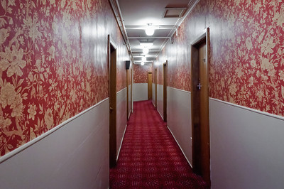 Corridor Leviathan Hotel Dunedin South Island New Zealand