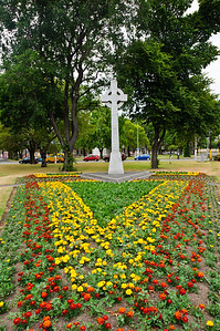 Queens Gardens Dunedin South Island New Zealand