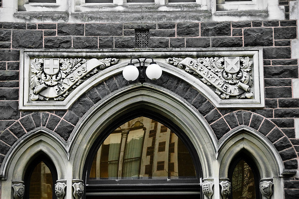 Old Physics Department Otago University Dunedin