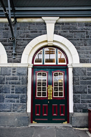 Doors Railway Station Dunedin
