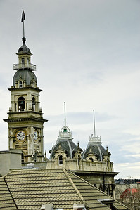 Clock tower Town Hall Dunedin