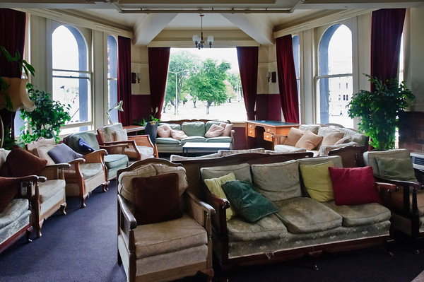 Lounge Leviathan Hotel Dunedin South Island New Zealand