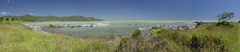 Raukokore bay Eastland New Zealand - 31 Dec 2003
