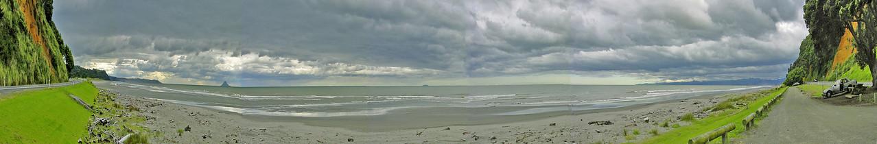 Kohiowa beach Bay of Plenty New Zealand - 31 Dec 2003